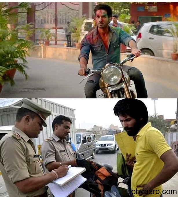 funny traffic police