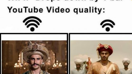 Arjun Kapoor Funny Photo – Panipat Movie Funny Memes