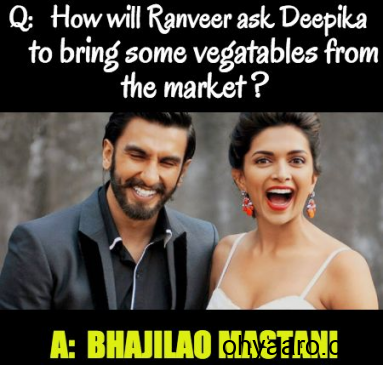 Deepika and Ranveer Funny Jokes
