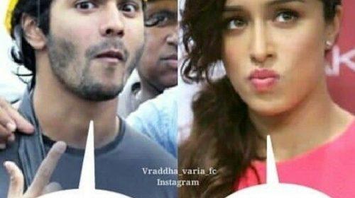 Varun Dhawan Shraddha Kapoor Funny Pic – Funny Bollywood Celebrity Pic